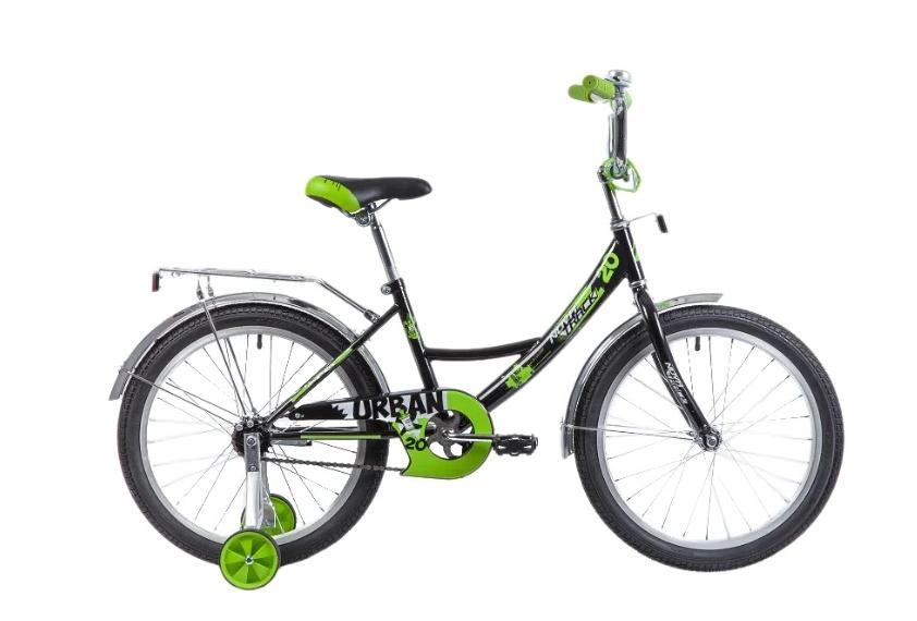 Детский велосипед Novatrack Urban 20 (2019) Черный (139699)