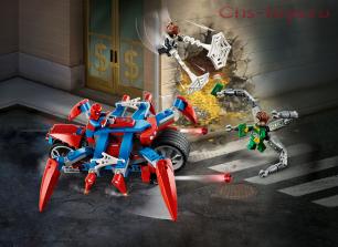 Конструктор LARI Super Heroes Человек-Паук против Доктора Осьминога 11498 (Аналог LEGO Super Heroes 76148) 252 дет