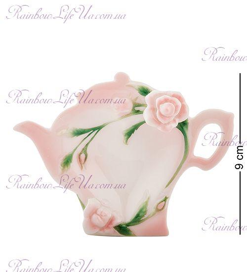 """Подставка для чайных пакетиков Роза """"Pavone"""""""