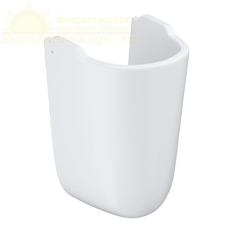 Полупьедестал для раковины grohe bau ceramic 39426000 ФОТО