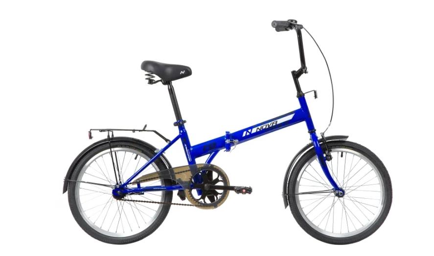 Подростковый городской велосипед Novatrack TG-20 Classic 301 NF V (2020) Синий (140673)