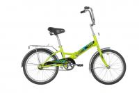 Подростковый городской велосипед Novatrack TG-20 Classic 201 (2020) Зеленый (140922)