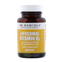 Липосомальный витамин Д3 5000 МЕ, 30 капс