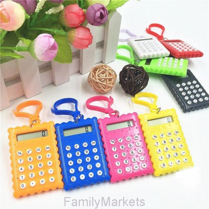 Брелок 8-разрядный калькулятор Печенька