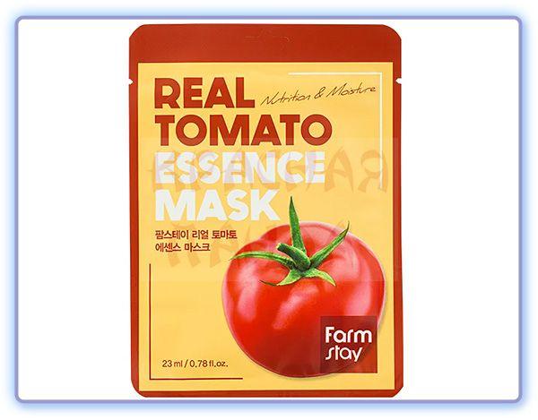 Маска для лица с экстрактом томата FarmStay Real Tomato Essence Mask