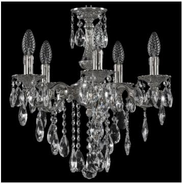 Подвесная люстра Bohemia Ivele Crystal 72101/5/125 B Ni 7201
