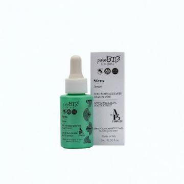 PuroBio - Сыворотка для жирной кожи/Serum sebum-balancing matte effect, 15мл