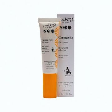 PuroBio - Крем для сухой кожи/Face Cream moisturizing for dry skin, 30мл