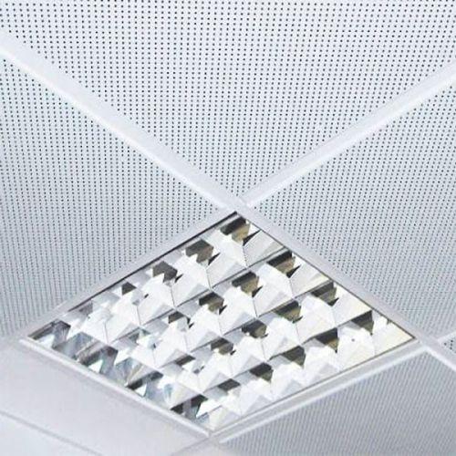 Потолок кассетный армстронг перфорированный Cesal 595х595 мм