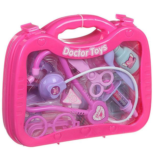 Набор доктор пласт. в чемодане 26х20х6 см. , арт. 7757B