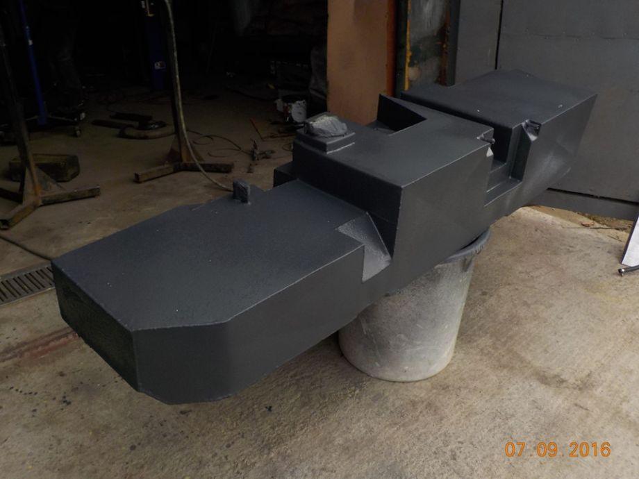 Топливный бак увеличенной емкости (особо прочная нержавейка) 240 литров взамен штатного