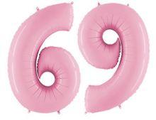 "Фигура ""6/9"", 40""/ 102 см, розовый, Grabo"