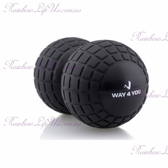 """Массажный мяч Peanut Massage Ball Roller """"Way4you"""""""