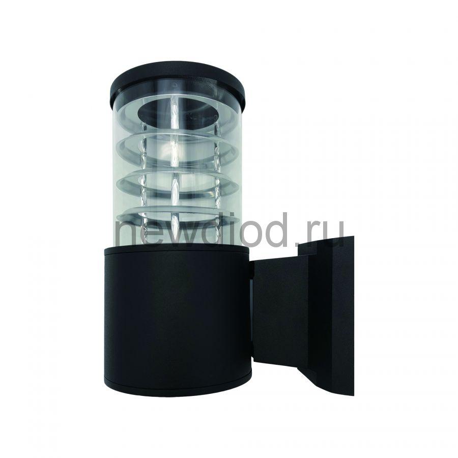 Светильник уличный под лампу Е27 UUL-S11A 60W-E27 IP65 BLACK архитектурный накладной черный TM Uniel