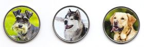 Собаки Набор монет 1 1/2 экю Канарские острова 2020 (3 монеты)