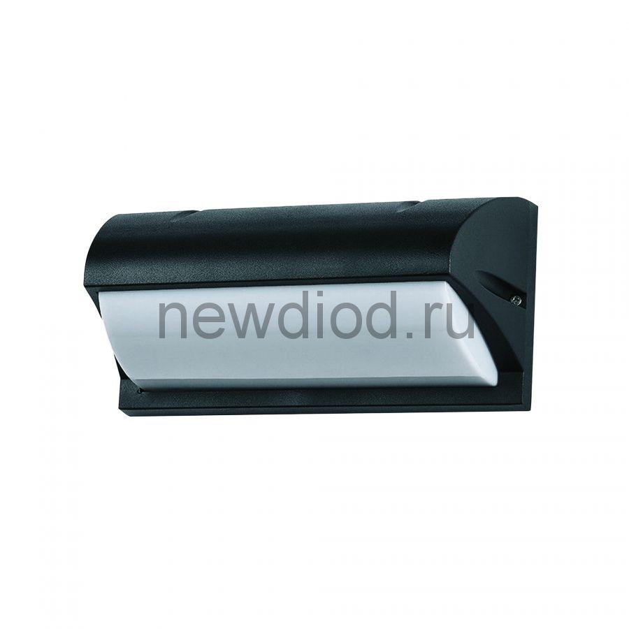 Светильник уличный под лампу Е27 UUL-S07A 60W-E27 IP54 BLACK архитектурный накладной черный TM Uniel