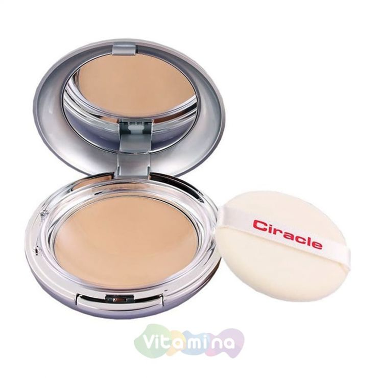 Ciracle Пудра матирующая Ciracle Anti Blemish Oil Control Pact, 12 гр