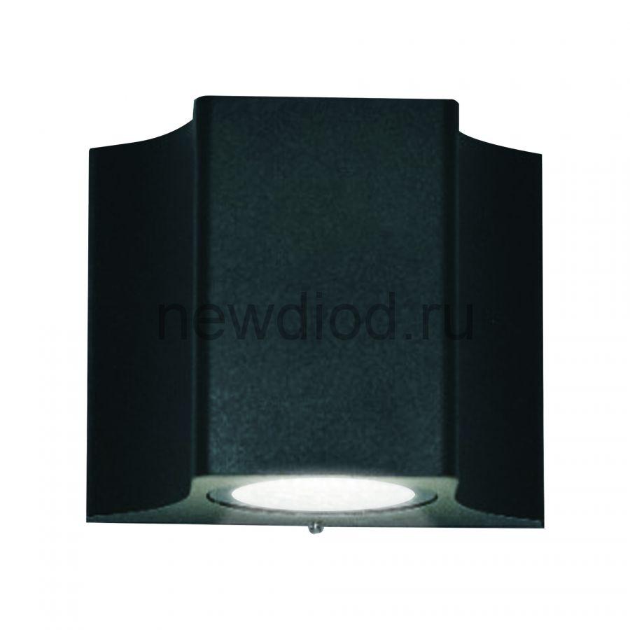 Светильник сд уличный ULU-S24A-5W-4000K IP65 BLACK архитектурный накладной корпус черный TM Uniel