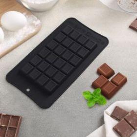 Форма для шоколада «Шоколадка 100 гр», ячейки 15×8×1 см