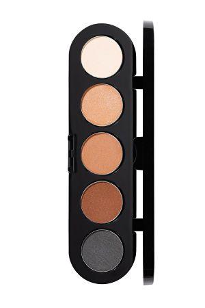 Make-Up Atelier Paris Palette Eyeshadows T01S Nude Палитра теней для век №1S натуральные тона