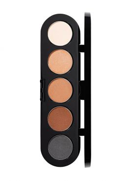 Make-Up Atelier Paris Palette Eyeshadows T01S Nude Палитра теней для век №1S натуральные тона