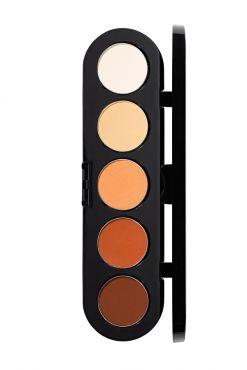 Make-Up Atelier Paris Palette Eyeshadows T06 Yellow orange tones Палитра теней для век №6 желто-оранжевые тона