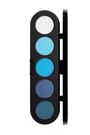 Make-Up Atelier Paris Palette Eyeshadows T07 Blue tones Палитра теней для век №7 сине-голубые тона