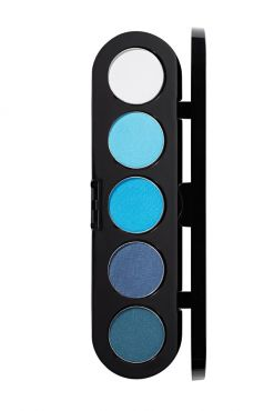 Make-Up Atelier Paris Palette Eyeshadows T07 Blue tones Палитра теней для век №7 сине-голубые тона