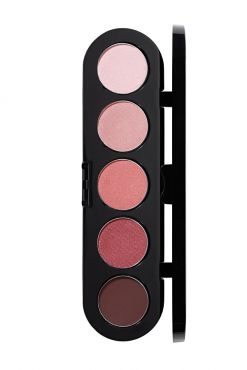 Make-Up Atelier Paris Palette Eyeshadows T10 Brown mauve tones Палитра теней для век №10 сиренево-коричневые тона
