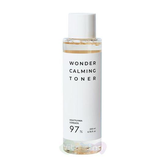 Esthetic House Успокаивающий тонер для лица Wonder Calming Toner, 200 мл