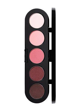 Make-Up Atelier Paris Palette Eyeshadows T13 Палитра теней для век №13 розово-вишневые тона