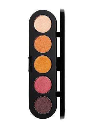 Make-Up Atelier Paris Palette Eyeshadows T17 Spicy tones Палитра теней для век №17 пряные атласные тона