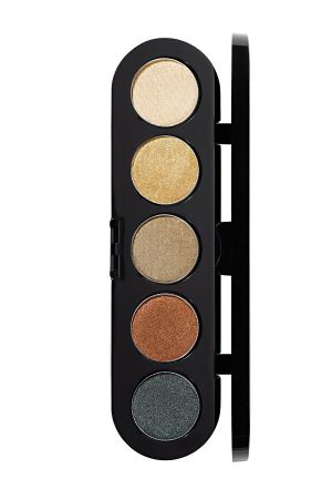 Make-Up Atelier Paris Palette Eyeshadows T18 Amazon tones Палитра теней для век №18 амазонка атласные тона