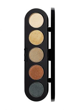 Make-Up Atelier Paris Palette Eyeshadows T18 Amazon tones Палитра теней для век №18 амазонка атласные тона