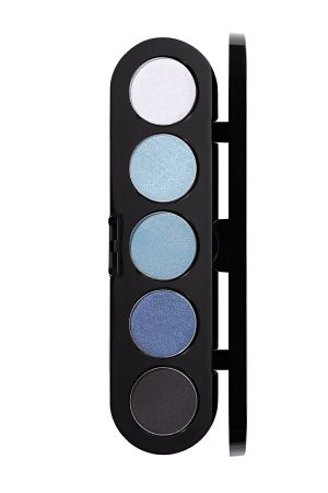 Make-Up Atelier Paris Palette Eyeshadows T27 Blue jeans Палитра теней для век №27 джинсовые темные тона (голубой бриллиант)