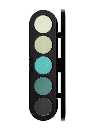Make-Up Atelier Paris Palette Eyeshadows T29 Printemps Палитра теней для век №29 весенне - зеленые тона (весенние тона)