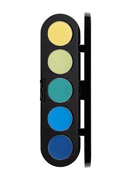 Make-Up Atelier Paris Palette Eyeshadows T32 Палитра теней для век №32 Восточное золото