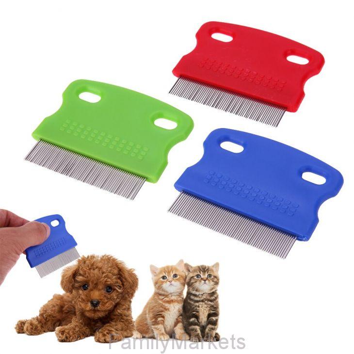 Гребешок для вычесывания блох у домашних животных, 8х6 см