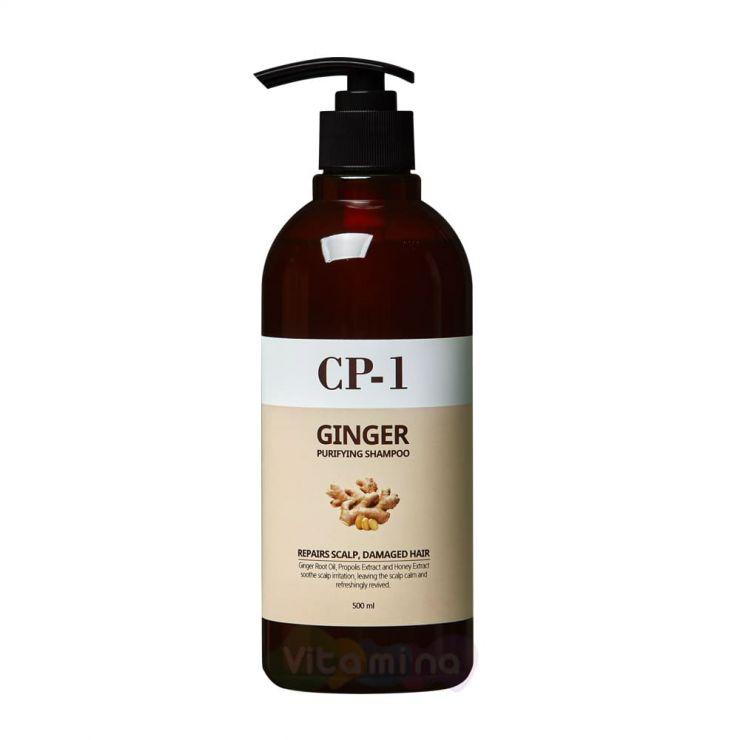 Esthetic House Очищающий шампунь с имбирем - CP-1 Ginger Purifying Shampoo, 500 мл