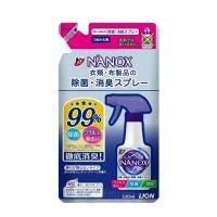 """Lion Спрей с антибактериальным и дезодорирующим эффектом для одежды и текстиля """"Super NANOX"""" (мягкая упаковка), 320 мл"""