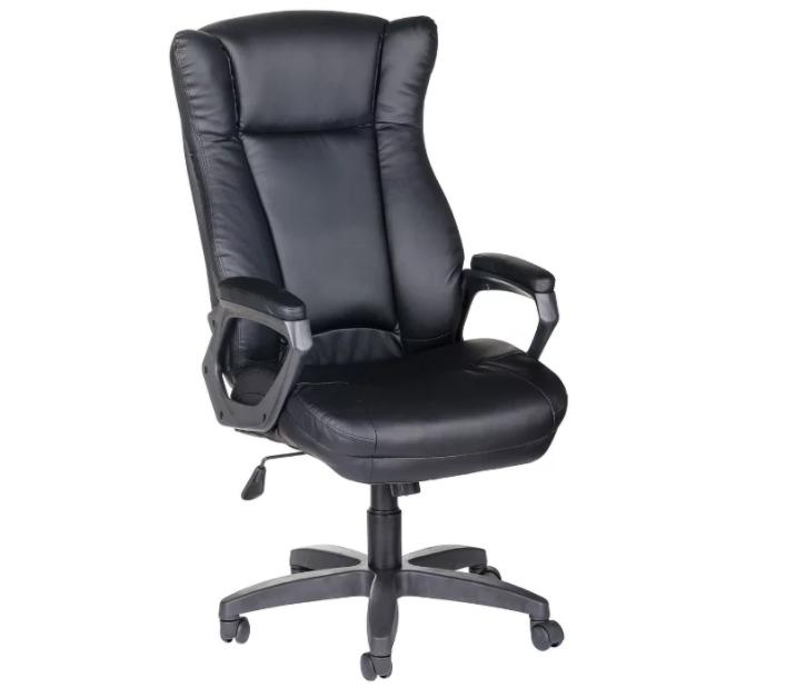 Компьютерное кресло Olss Адмирал ULTRA для руководителя Черное
