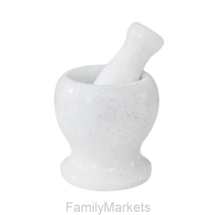 Гранитная ступка с пестиком, 11х9.5 см