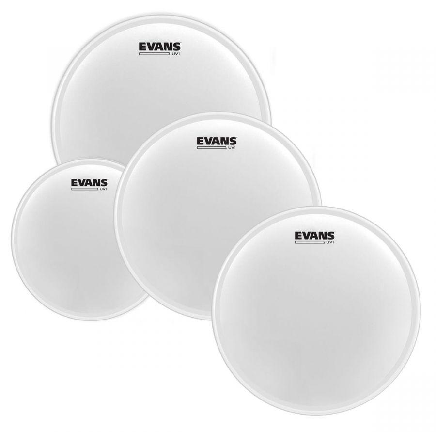 "EVANS EPP-UV1-F UV1 Coated Fusion Набор пластиков (10, 12, 14"") + 14"""