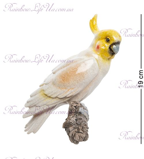 """Фигура подвесная """"Попугай Какаду"""""""