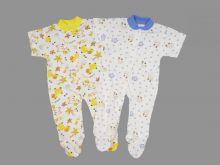 Комбинезон для новорожденных 02072 белый Мамин малыш