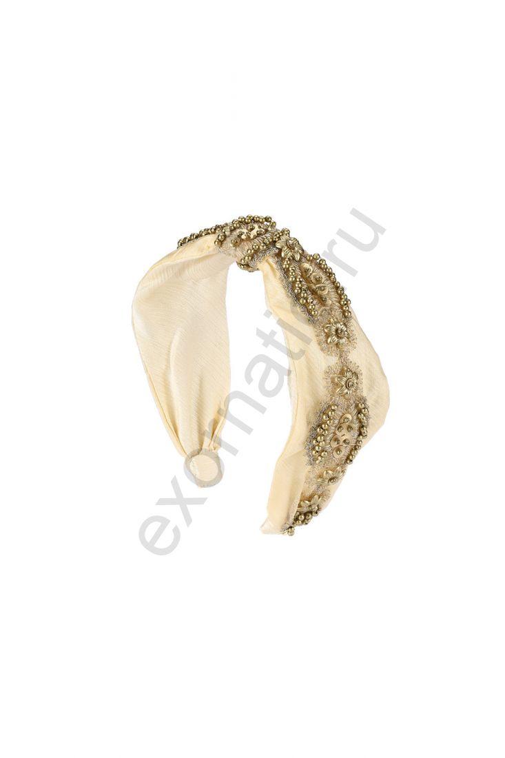 Ободок Evita Peroni 31510-986. Коллекция Hair Band Gold