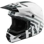 Fly Racing Kinetic Thrive White/Black/Grey шлем внедорожный