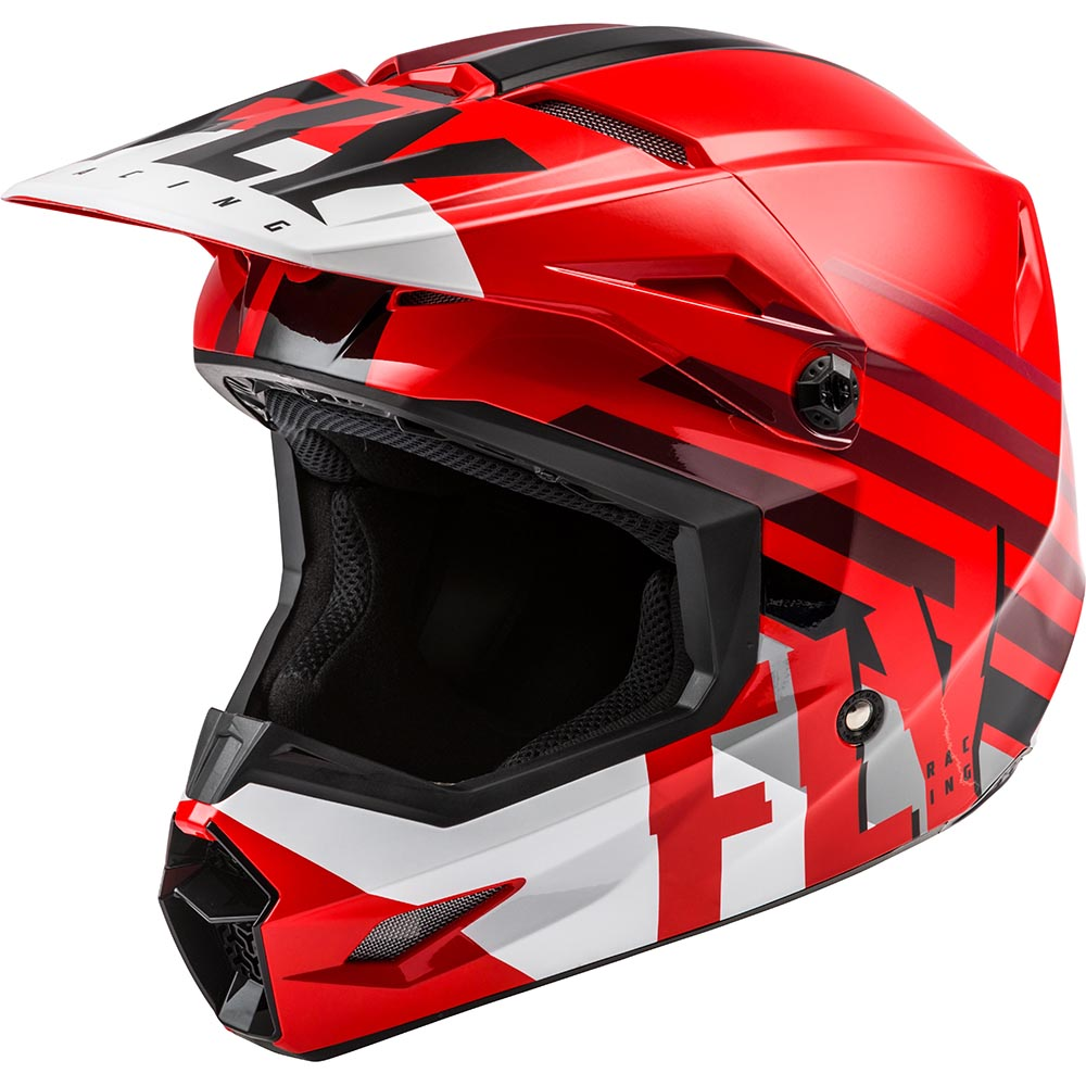 Fly Racing 2021 Kinetic Thrive Red/White/Black шлем внедорожный
