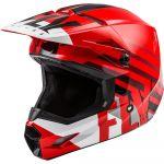 Fly Racing Kinetic Thrive Red/White/Black шлем внедорожный