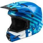 Fly Racing Kinetic Thrive Blue/White шлем внедорожный